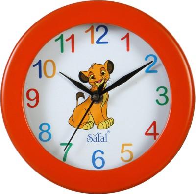 Safal Analog 17 cm Dia Wall Clock