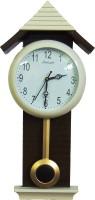 Feelings Pendulum Analog Wall Clock(Multicolor, With Glass)