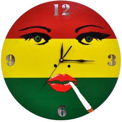 Indigo Creatives Analog Wall Clock