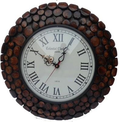 Coloniai Clock Analog 37.5 cm Dia Wall Clock