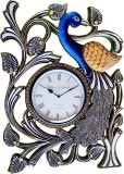 Rajwadi Kala Analog Wall Clock (Blue, Go...
