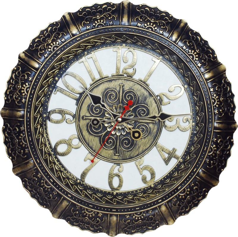 India House Analog Wall Clock India house Antique Wall Clock