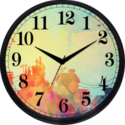 Cartoonpur Analog 28 cm Dia Wall Clock
