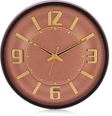 Fiesta Matiz Trendy Cola Color Analog 38 cm Dia Wall Clock