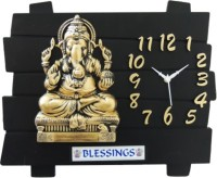 BUY UR STUFF Analog Wall Clock(Multicolor, Without Glass)