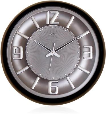 Fiesta Matiz Trendy Grey Color Analog 38 cm Dia Wall Clock