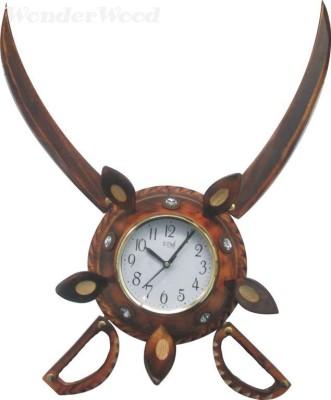 WonderWood Analog Wall Clock