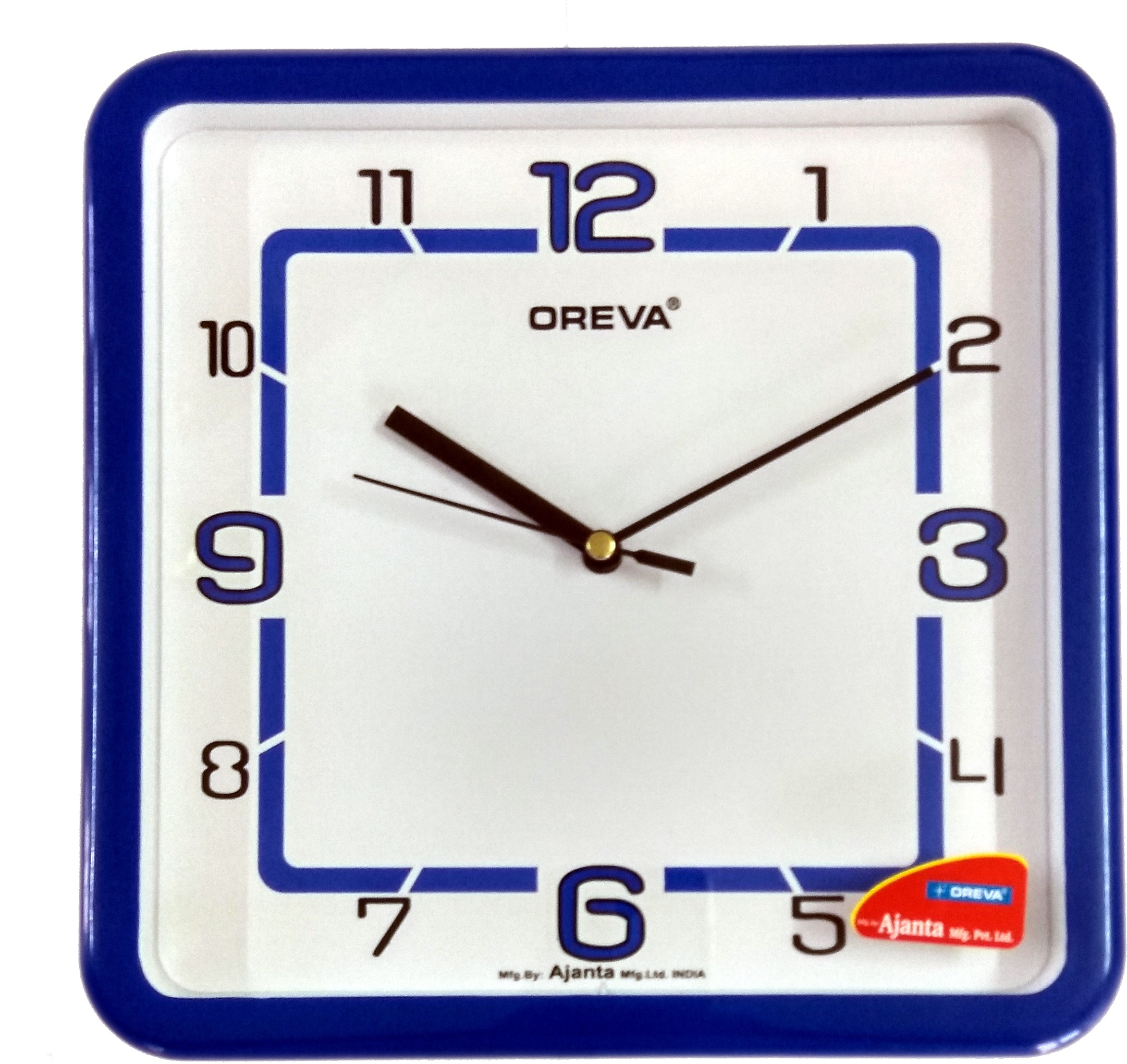 Ajanta Oreva Analog Wall Clock(Blue) Flipkart