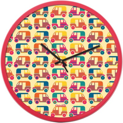 Chumbak Analog 34.3 cm Dia Wall Clock