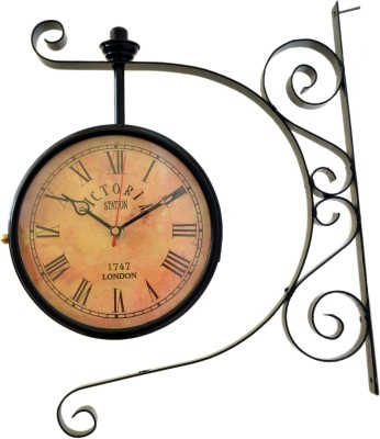 vintage art and crafts Analog Wall Clock
