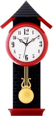 Solar Analog Wall Clock