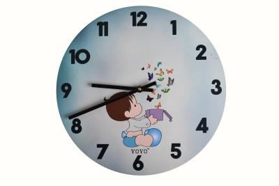 YOYO Analog 29 cm Dia Wall Clock