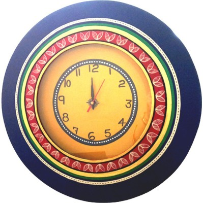 Vareesha Analog 36 cm Dia Wall Clock
