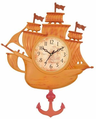 Siddharth Ship Pendulum Analog Wall Clock