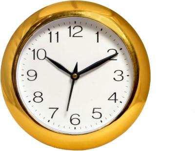 Wallace Harsha1707-Golden.White Analog 17 cm Dia Wall Clock