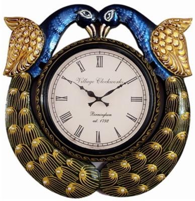 Khushal Analog 8 cm Dia Wall Clock