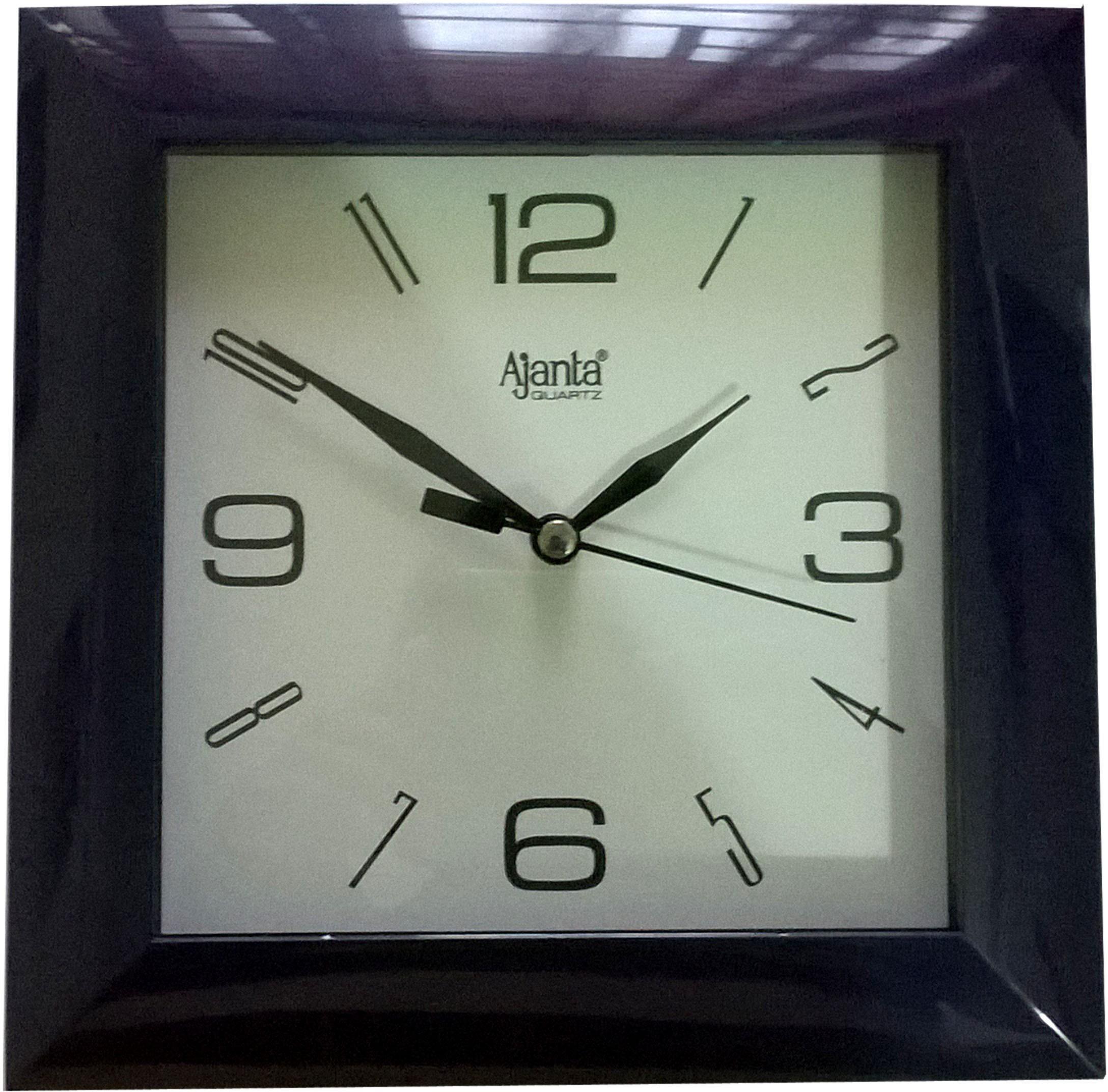 Ajanta analog wall clock blue mufat error amipublicfo Images