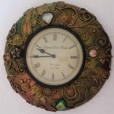 Kalasiddhiart Word 30.5 cm Dia Wall Clock