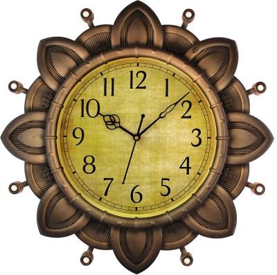 Fiesta Burton1119 Designer Silica Brown Analog 41 cm Dia Wall Clock