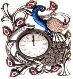 Nexus Designer Analog Wall Clock (Brown,...