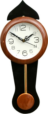 Wallace 717-PP Red Pendulum Analog 43 cm Dia Wall Clock