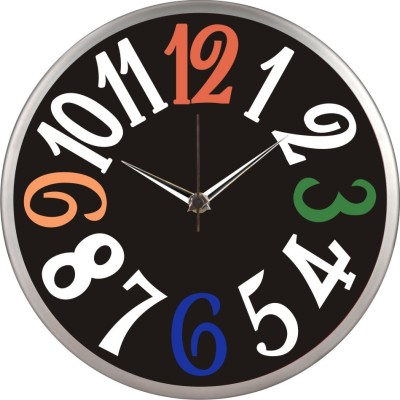 steel Analog Wall Clock
