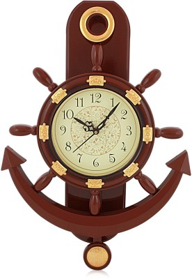 Fiesta Altra810 Anchor & Steering Pendulum Analog 46 cm Dia Wall Clock