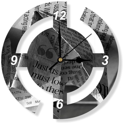 Phototech Analog 30 cm Dia Wall Clock