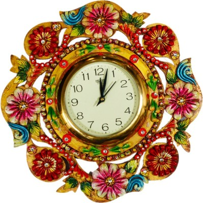 Shree Shyam Arts Analog 9 cm Dia Wall Clock