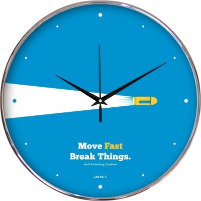 Lab No. 4 Analog 30 cm Dia Wall Clock