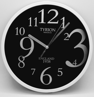 TYRION WATCH Co. Analog 22 cm Dia Wall Clock