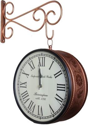 Khushal Analog 20.32 cm Dia Wall Clock