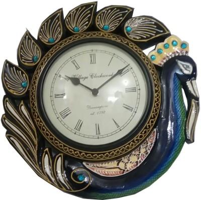 DivinityOLT Analog 33 cm Dia Wall Clock