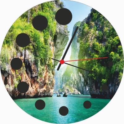 DigiArts Décor Analog 30.5 cm Dia Wall Clock
