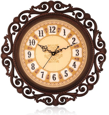 Fiesta Steven1618 Rust Brown Color Designer Analog 41 cm Dia Wall Clock