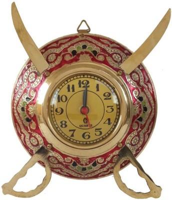 Folkshopz Analog 16 cm Dia Wall Clock