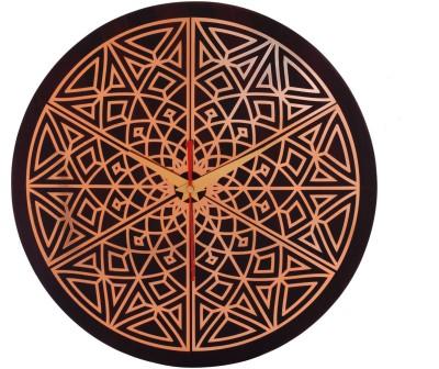 Mad(e) in India Analog 27.5 cm Dia Wall Clock