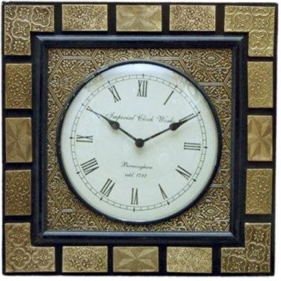Khushal Analog 18 cm Dia Wall Clock