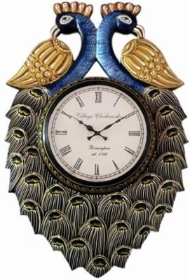 Village Clockworks Analog 30 cm Dia Wall Clock