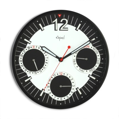 Opal Luxury Time Products Ltd Analog 30 cm Dia Wall Clock
