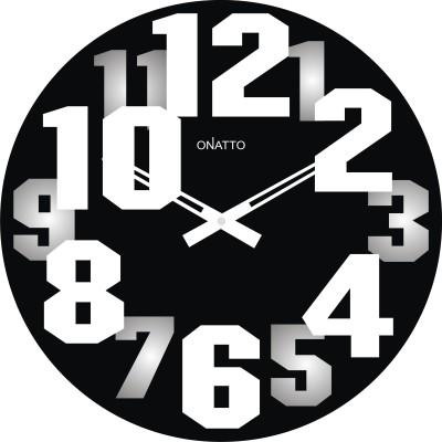 Onatto Analog 29 cm Dia Wall Clock