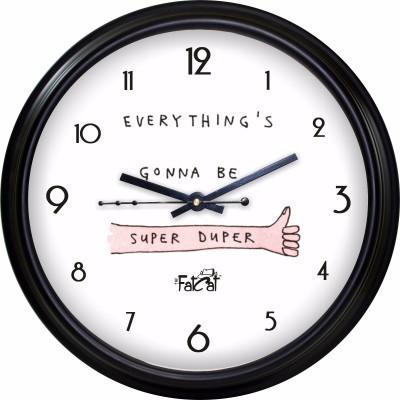 The Fat Cat Analog Wall Clock