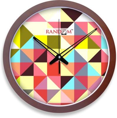 Random Analog 33.5 cm Dia Wall Clock