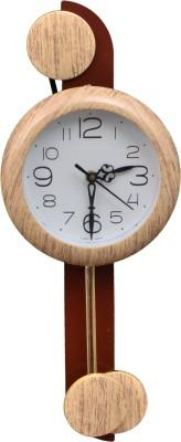 Wallace 707-Ivory Designer Pendulum Analog 48 cm Dia Wall Clock