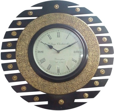 Khushal Analog 45 cm Dia Wall Clock