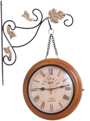 Home Sparkle Analog 20 cm Dia Wall Clock