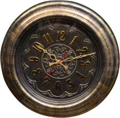 Wallace TQ3115-B-Golden Designer Analog 48 cm Dia Wall Clock