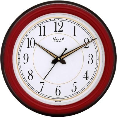 Heart Analog Wall Clock