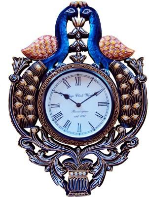 Rajwadi kala Analog 15 cm Dia Wall Clock