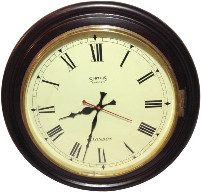 Prop It Up Analog 43 cm Dia Wall Clock